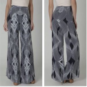 Leifsdottir Anthropologie Optic Palazzo Pants 10
